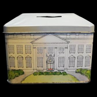 White House Still Bank Avon Tin of Bristol England