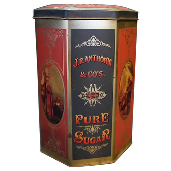 Case Manufacturing England Pure Sugar Harry's Grocery Unity Mills Canister