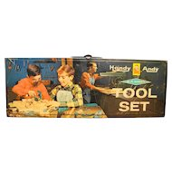 Handy Andy Tool Set 630 Skil-Craft Case Only Tool Box