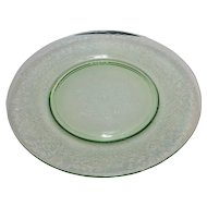 Hazel Atlas Florentine No. 2 Green Salad Plate