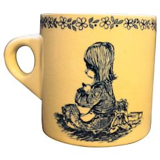 Royal Crownford Blue Yesterday's Children Norma Shearer Mug