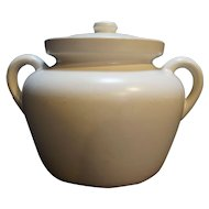 McCoy White Bean Pot 342