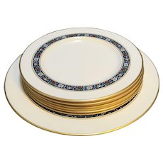 Pickard Grandeur Salad Plates Dinner Plate 6 Pcs