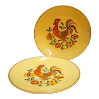 Taylor Smith Taylor Reveille Dinner Plates Pair