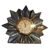 Waterford Crystal Congratulations Clock Gifts of Expression NIB