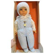 Zapf Creation Mein Baby Own Tiny Baby Blond Blue Eyes 1980s MIB NIB