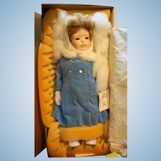Dolls by Jerri Porcelain Katie 821 Vintage New in Box