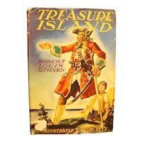 Treasure Island Robert Louis Stevenson Grosset & Dunlap Illustrated Junior Library