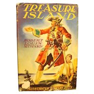 Treasure Island Robert Louis Stevenson Grosset & Dunlap Illustrated Junior Library