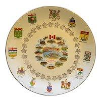 Montreal Canada Expo 67 Porcelain Plate Souvenir Hostess Ware