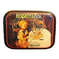 Hershey's Cocoa Small Tin Bristol Ware Hong Kong