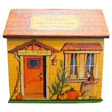 Hallmark Better Homes & Gardens 1995 Recipe Box With Cards