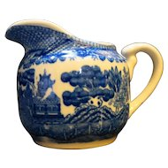 Japan Blue Willow Creamer
