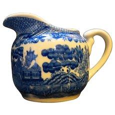 Japan Blue Willow Creamer