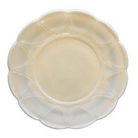 Hazel Atlas Newport Platonite White Sandwich Plate