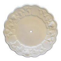 Westmoreland Paneled Grape Luncheon Plate Tidbit Tray