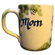 Louisville Stoneware Mom Butterflies Mug