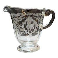 Fostoria Navarre Creamer Elegant Depression Glass