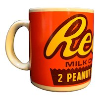Reese's Milk Chocolate Peanut Butter Cups Mug Made in Japan