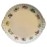 Royal Albert Flower of the Month Cake Plate All 12 Flowers