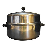 Farberware Aluminum Clad Stainless Steel Dutch Oven Domed Lid 5 Qt