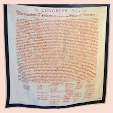 Echo Declaration of Independence Scarf 30 IN