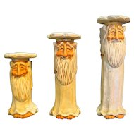 David Frykman The Oldest Angel Candle Holders Set of 3