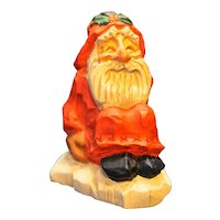 David Frykman DF 1001 Oh The Joy Santa Sitting Christmas Folk Art Figurine