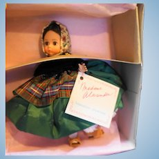 Madame Alexander Ibiza 510 Doll 8 IN NIB NRFB Miniature Showcase