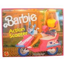 Barbie Action Scooter 7483 Mattel Arco NIB NRFB 1990