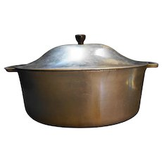 Cast Rite Aluminum Oval Dutch Oven Roaster Chicken Fryer Pot