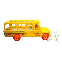 Fisher Price 192 School Bus 1984