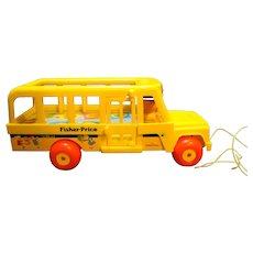 Fisher Price 192 School Bus 1984