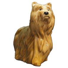 Royal Doulton Beswick England Yorkshire Terrier Yorkie BX31 Brown Mark