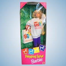 Barbie FAO Schwartz Souvenir Edition Shopping Spree 1994 NIB NRFB