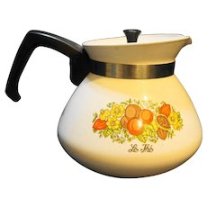 Corning Ware Spice of Life Teapot 6 Cup