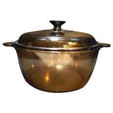 Corning Visions Amber Dutch Oven 4.5L