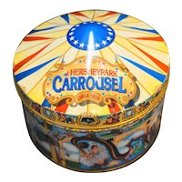 Hershey Park Carrousel Tin