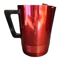 Regal Aluminum Dark Red Anodized Aluminum Pitcher