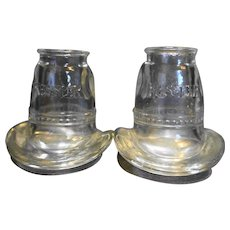 Kessler Cowboy Hat Shot Glasses Pair