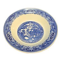 Royal China Blue Willow Open Round Bowl 9 IN