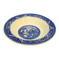 Royal China Blue Willow Open Round Bowl 10 IN