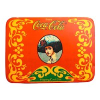 Coca Cola Gibson Girl Playing Cards Double Deck Set Tin