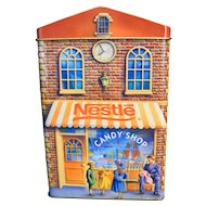 Nestle Bakery Candy Shop Book Loft Ice Creamery Tin