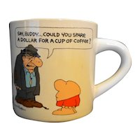 Ziggy Cup of Coffee Mug 1980s