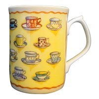 Duchess Bone China Mug Teacups Pattern