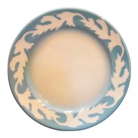 Syracuse Oakleigh Grey Blue Bread Plate Restaurant Ware