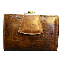 Renwick Ranch Steer Leather Ladies' Wallet