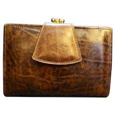 Renwick Ranch Steer Leather Ladies' Wallet