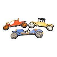 Antique Auto Cars Cast Aluminum Wall Plaques Hanging Decor Ford Stutz Olds